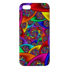 Color Spiral Iphone 5s/ Se Premium Hardshell Case by Simbadda