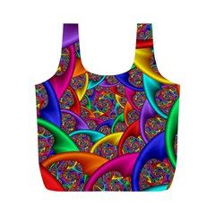 Color Spiral Full Print Recycle Bags (m)  by Simbadda