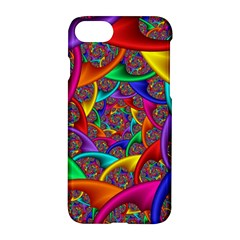 Color Spiral Apple Iphone 7 Hardshell Case by Simbadda