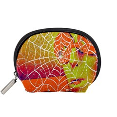 Orange Guy Spider Web Accessory Pouches (small)  by Simbadda