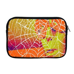 Orange Guy Spider Web Apple Macbook Pro 17  Zipper Case by Simbadda