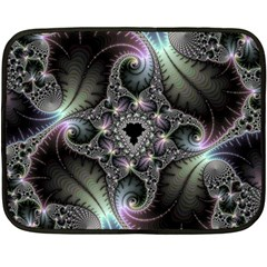 Beautiful Curves Double Sided Fleece Blanket (mini)  by Simbadda