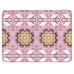 Floral Pattern Seamless Wallpaper Samsung Galaxy Tab 7  P1000 Flip Case by Simbadda