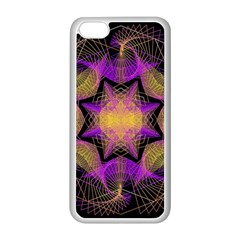 Pattern Design Geometric Decoration Apple Iphone 5c Seamless Case (white) by Simbadda