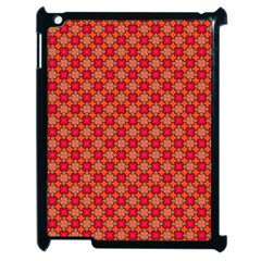 Abstract Seamless Floral Pattern Apple Ipad 2 Case (black) by Simbadda