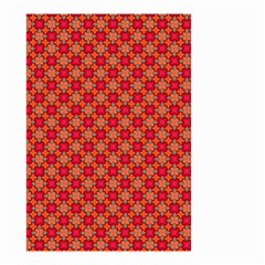 Abstract Seamless Floral Pattern Small Garden Flag (two Sides) by Simbadda