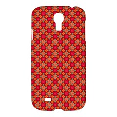 Abstract Seamless Floral Pattern Samsung Galaxy S4 I9500/i9505 Hardshell Case by Simbadda