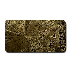 Peacock Metal Tray Medium Bar Mats