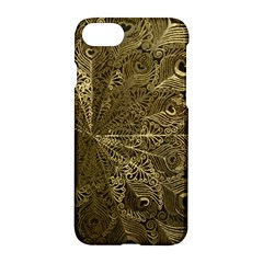 Peacock Metal Tray Apple Iphone 7 Hardshell Case