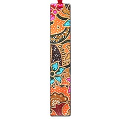 Colorful The Beautiful Of Art Indonesian Batik Pattern Large Book Marks