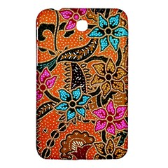 Colorful The Beautiful Of Art Indonesian Batik Pattern Samsung Galaxy Tab 3 (7 ) P3200 Hardshell Case
