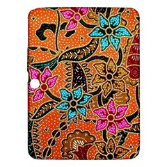 Colorful The Beautiful Of Art Indonesian Batik Pattern Samsung Galaxy Tab 3 (10 1 ) P5200 Hardshell Case