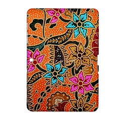 Colorful The Beautiful Of Art Indonesian Batik Pattern Samsung Galaxy Tab 2 (10 1 ) P5100 Hardshell Case