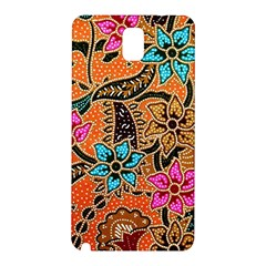 Colorful The Beautiful Of Art Indonesian Batik Pattern Samsung Galaxy Note 3 N9005 Hardshell Back Case