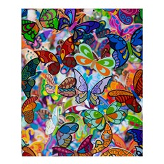 Color Butterfly Texture Shower Curtain 60  X 72  (medium)  by Simbadda