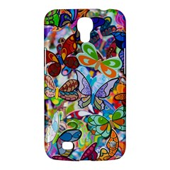 Color Butterfly Texture Samsung Galaxy Mega 6 3  I9200 Hardshell Case