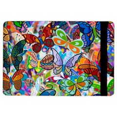 Color Butterfly Texture Ipad Air 2 Flip by Simbadda
