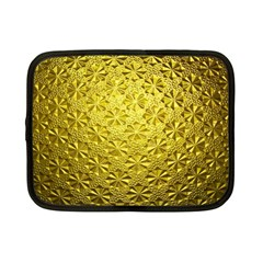 Patterns Gold Textures Netbook Case (small)  by Simbadda