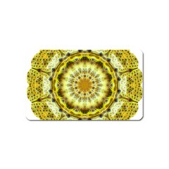 Fractal Flower Magnet (name Card) by Simbadda