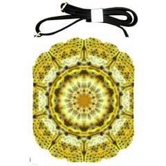 Fractal Flower Shoulder Sling Bags by Simbadda