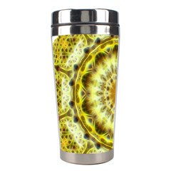 Fractal Flower Stainless Steel Travel Tumblers by Simbadda