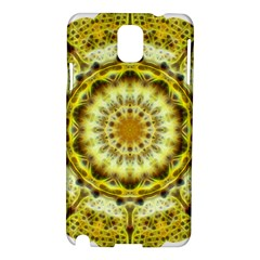 Fractal Flower Samsung Galaxy Note 3 N9005 Hardshell Case by Simbadda