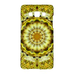Fractal Flower Samsung Galaxy A5 Hardshell Case  by Simbadda