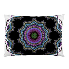 Fractal Lace Pillow Case by Simbadda