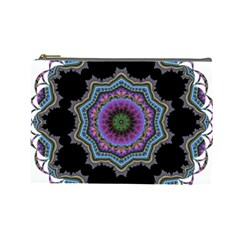 Fractal Lace Cosmetic Bag (large)