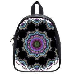 Fractal Lace School Bags (small)