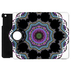 Fractal Lace Apple Ipad Mini Flip 360 Case by Simbadda