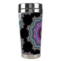 Fractal Lace Stainless Steel Travel Tumblers by Simbadda