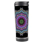 Fractal Lace Travel Tumbler Center