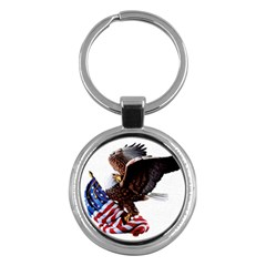 Independence Day United States Key Chains (round)  by Simbadda