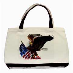 Independence Day United States Basic Tote Bag (two Sides)