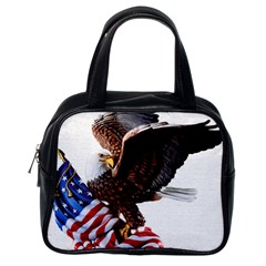Independence Day United States Classic Handbags (one Side) by Simbadda