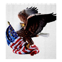 Independence Day United States Shower Curtain 66  X 72  (large)  by Simbadda