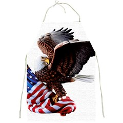 Independence Day United States Full Print Aprons by Simbadda