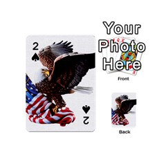 Independence Day United States Playing Cards 54 (mini)  by Simbadda