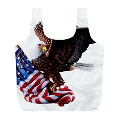 Independence Day United States Full Print Recycle Bags (l)  by Simbadda