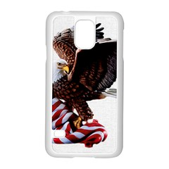 Independence Day United States Samsung Galaxy S5 Case (white) by Simbadda