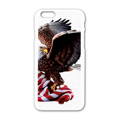Independence Day United States Apple Iphone 6/6s White Enamel Case by Simbadda