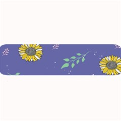 Floral Flower Rose Sunflower Star Leaf Pink Green Blue Yelllow Large Bar Mats by Alisyart