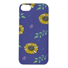 Floral Flower Rose Sunflower Star Leaf Pink Green Blue Yelllow Apple Iphone 5s/ Se Hardshell Case by Alisyart