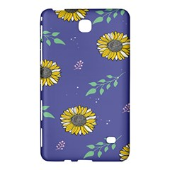 Floral Flower Rose Sunflower Star Leaf Pink Green Blue Yelllow Samsung Galaxy Tab 4 (8 ) Hardshell Case