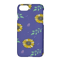 Floral Flower Rose Sunflower Star Leaf Pink Green Blue Yelllow Apple Iphone 7 Hardshell Case