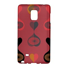 Heart Love Fan Circle Pink Blue Black Orange Galaxy Note Edge by Alisyart