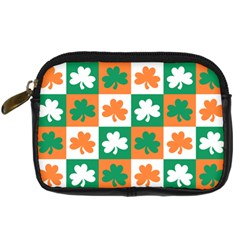 Ireland Leaf Vegetables Green Orange White Digital Camera Cases by Alisyart