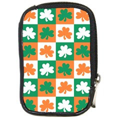 Ireland Leaf Vegetables Green Orange White Compact Camera Cases by Alisyart