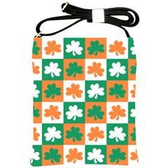 Ireland Leaf Vegetables Green Orange White Shoulder Sling Bags by Alisyart
